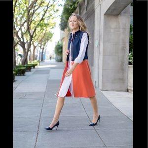 Trouve Color Block vest